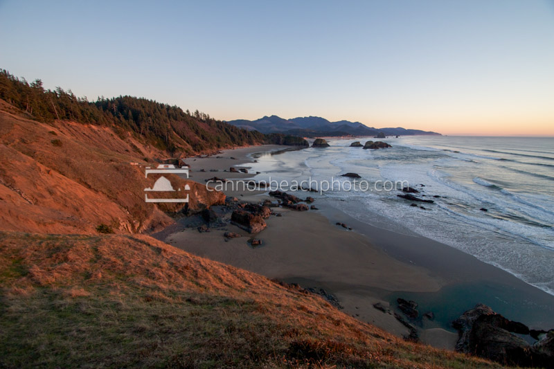 Ecola State Park at Sunset