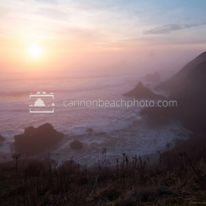 Ethereal Evening at Ecola Point