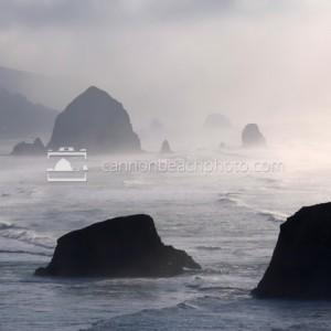 Fog and Light – Ecola State Park View