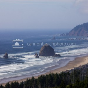 Haystack Rock and the Coast