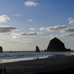 Late Day in Cannon Beach