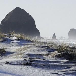 Morning on White Dunes