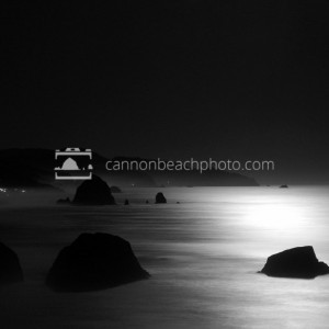Nightime from Ecola Point