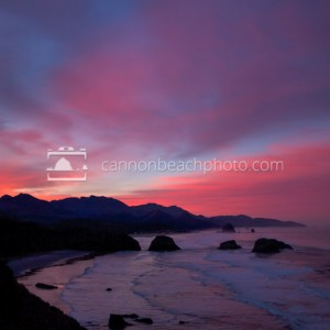 Vibrant Sunrise from Ecola Point