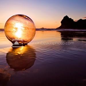Arcadia Glass Ball Reflection