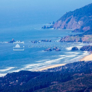 Cannon Beach Coastline from Afar