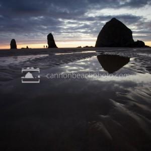 Evening Tidepools at Haystack Rock