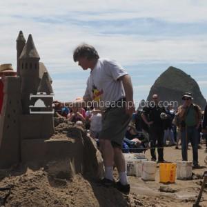 Sandcastle Day – Castle of Sand Sculpture