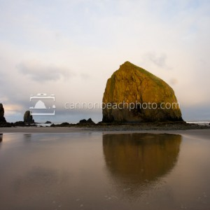 Sunrise on Haystack Rock