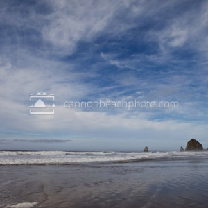 Wide Sky Above Haystack Rock