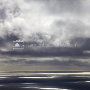 Cloudy Oregon Coast Day