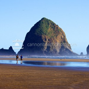 Haystack Rock, Summer on the Oregon Coast