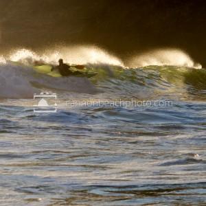 Kayak Surf on the Oregon Coast
