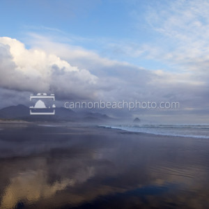 Winter Storm Clouds Over Cannon Beach