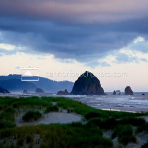 Twilight Glow in Cannon Beach, Oregon