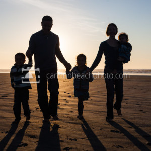 Beach Stroll Hand in Hand – Seaside, Oregon