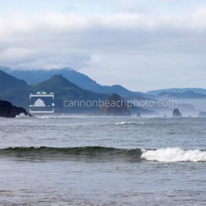 Cannon Beach Overcast Morning