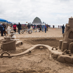 Cannon Beach Sandcastle Day Contest, Oregon Coast