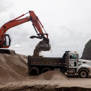 Dune Grading, Oregon Coast Construction
