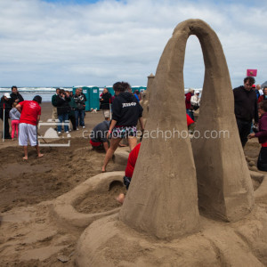 Oregon Coast Sand Castle Contest 2