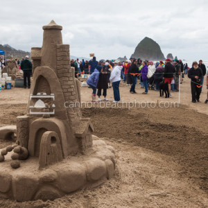 Oregon Coast Sand Castle Contest 3