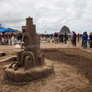 Oregon Coast Sand Castle Contest 5