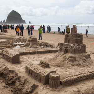 Oregon Coast Sand Castle Contest 7