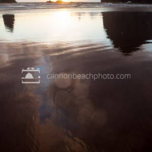 Oregon Coast Seastacks Reflected