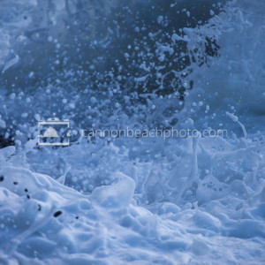 Oregon Coast Wave Foam Explosion 2