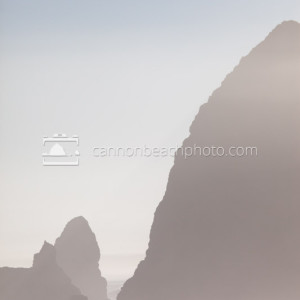 Haystack Rock Art in Vertical