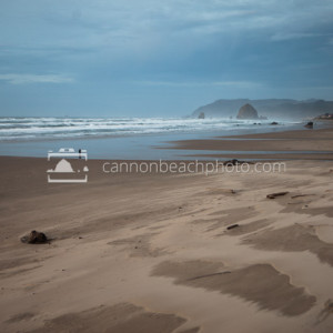 Stormy South End of Cannon Beach