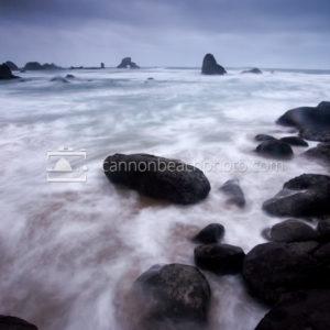 Waves Churn, Stormy Seas
