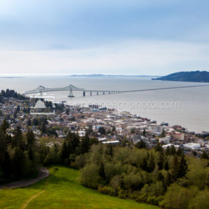 Astoria-Megler Bridge Daytime from Astoria Column