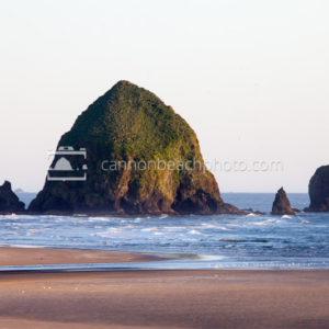 Simple Haystack Rock Portrait