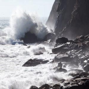 Waves Crash Neahkahnie Cliffs 2