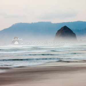 Ocean Motion View North to Haystack Rock
