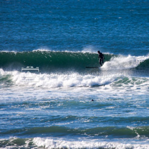 Surfer on a Wave, Cannon Beach, Oregon