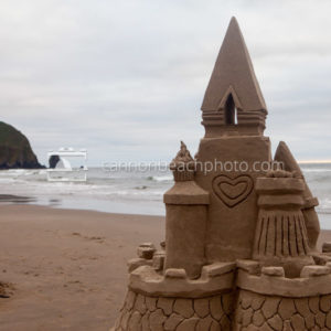 Sandcastle Day Sculpture
