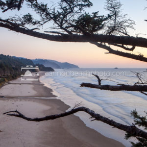 Beautiful Oregon Coast Scene at Arcadia Beach