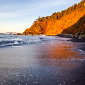 Black Sands Beach at Sunset