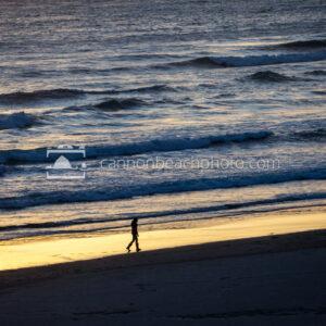 Sunset Strolling the Shoreline 2