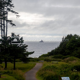 Ecola Park Path to Tillamook Lighthouse