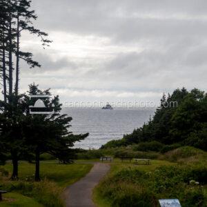 Ecola Park Path to Tillamook Lighthouse