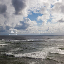 Ocean and Sky, Summer Storm