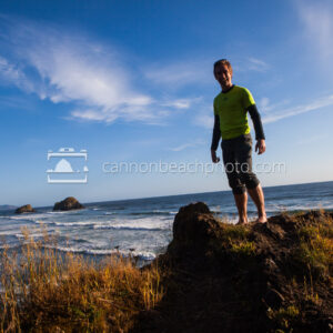 Smiling Man at Ecola State Park