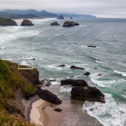 Stormy Ocean from Ecola Point