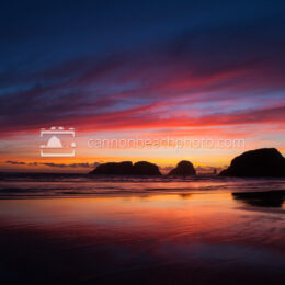 Oregon Coast Spectacular Sunset