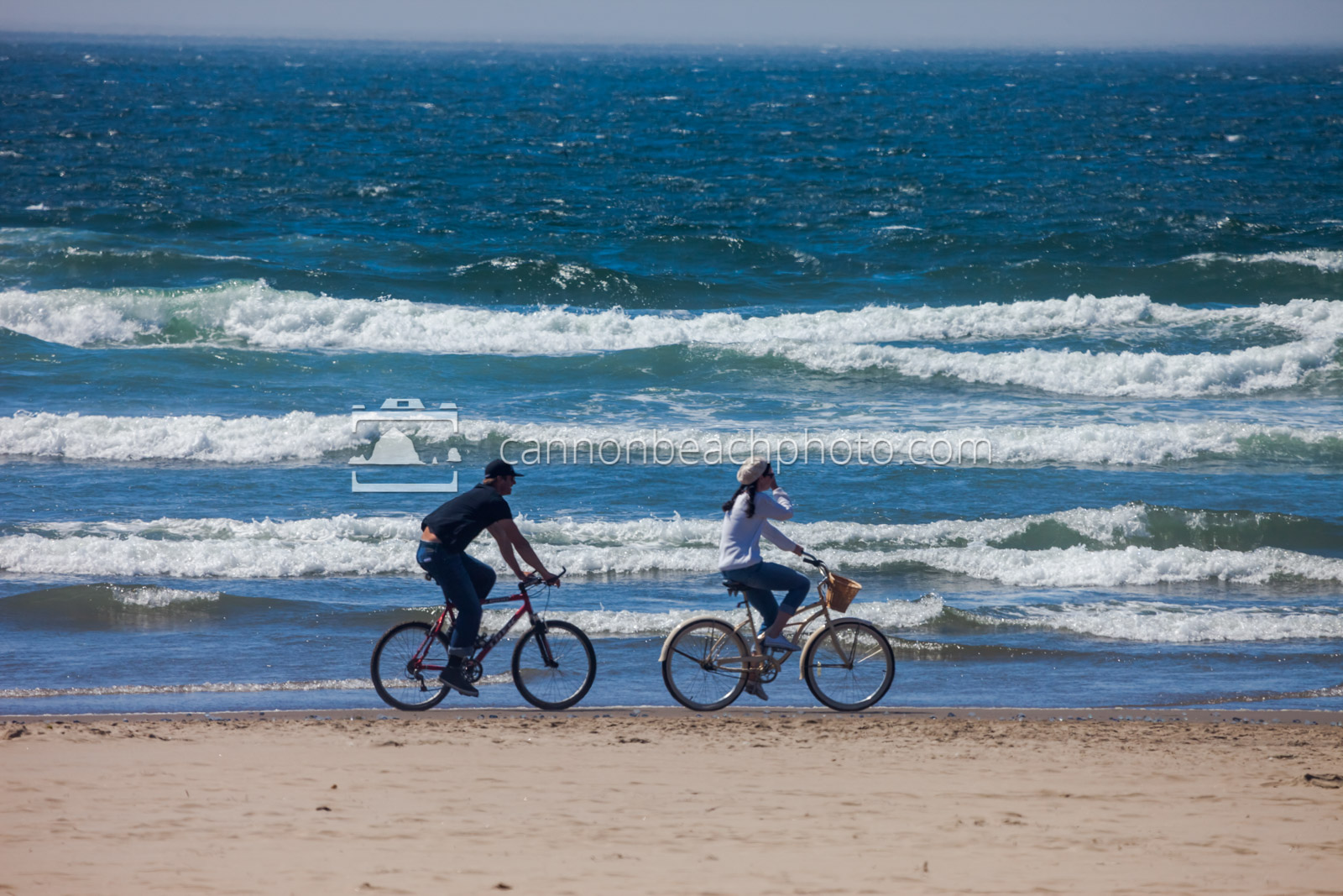 Biking the Shoreline on the Oregon Coast
