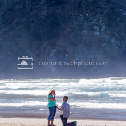 Engagement Near Haystack Rock