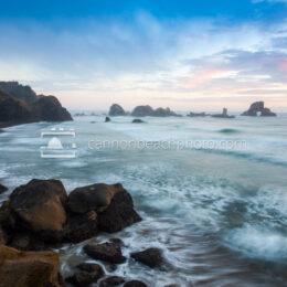 Peaceful Evening at Indian Beach